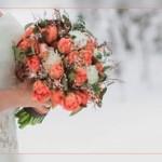 Букет невесты зимой, какие цветы выбрать!