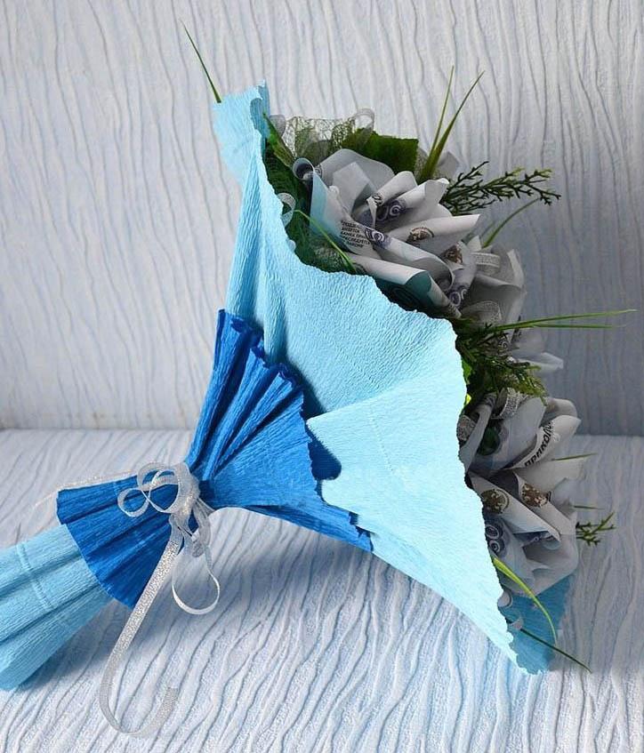 Доставкой санкт, как упаковать букет роз из гофрированной бумаги